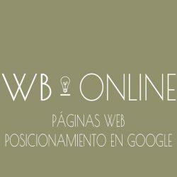 WBOnline Diseño web y posicionamiento en Google